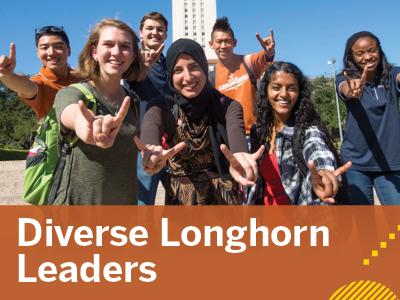 Diverse Longhorn Leaders Tile Image