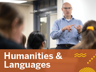 Humanities & Languages Tile Image