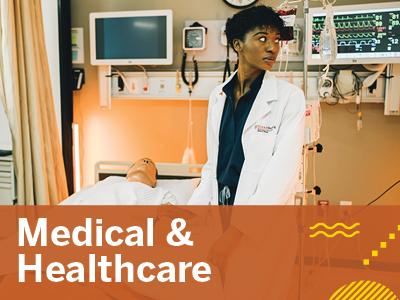 Medical & Healthcare Tile Image