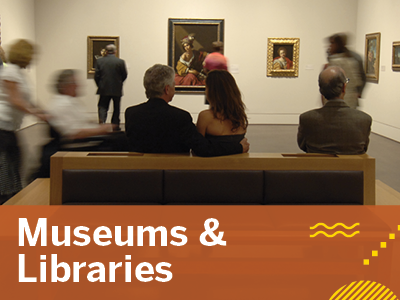 Museums & Libraries Tile Image