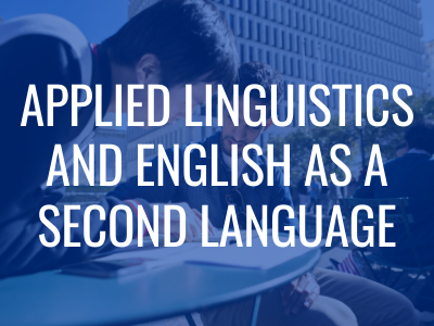 Applied Linguistics & English as a Second Language Tile Image
