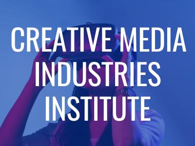 Creative Media Industries Institute Tile Image