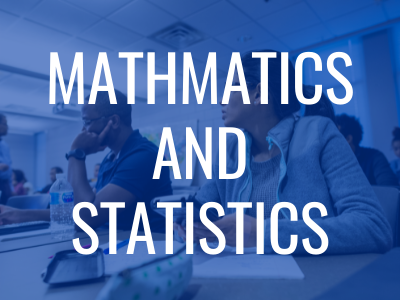 Mathmatics and Statistics Tile Image