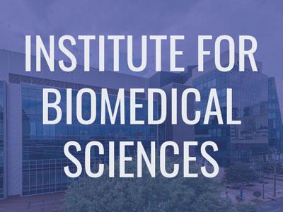 Institute for Biomedical Sciences Tile Image