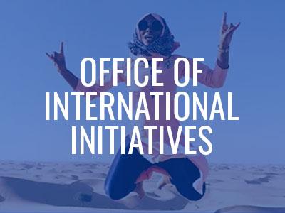 Office of International Initiatives Tile Image