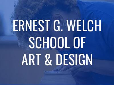 Ernest G. Welch School of Art & Design Tile Image