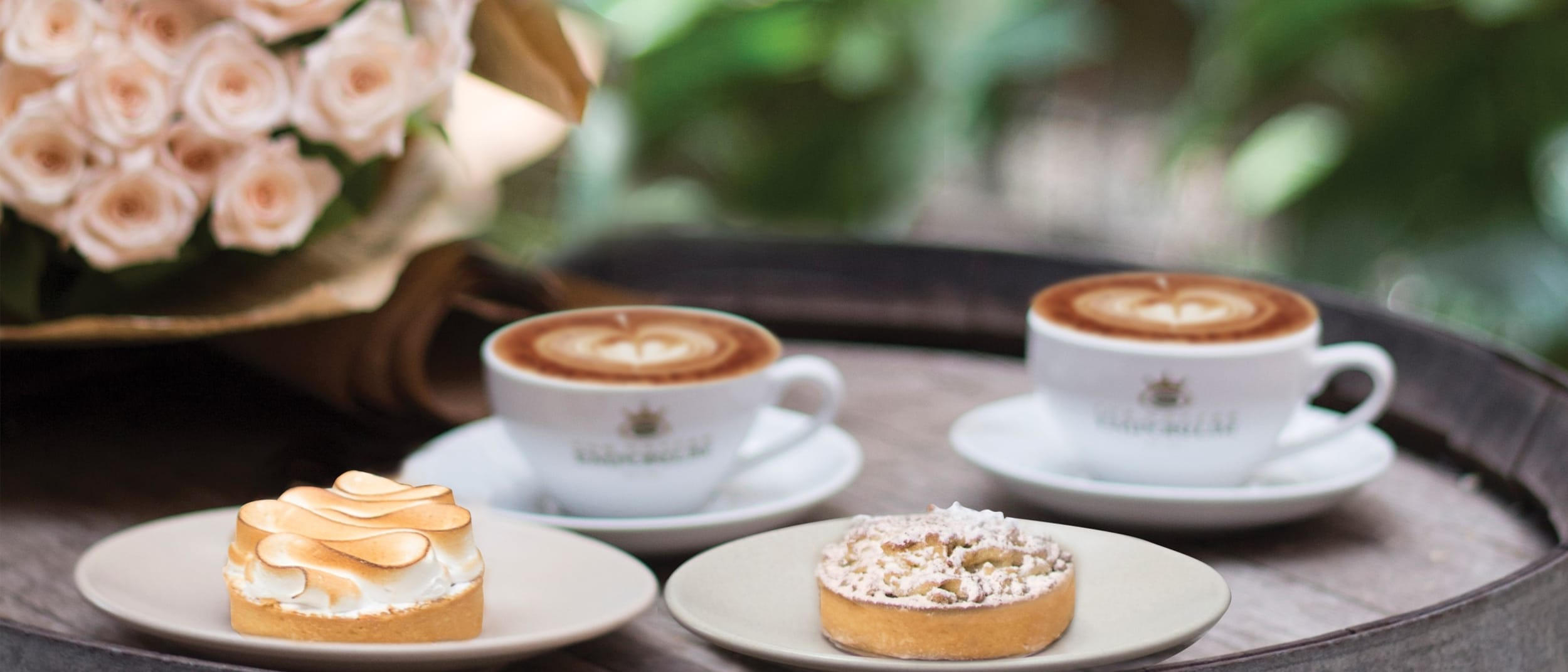 The Coffee Emporium: coffee and tart for $7