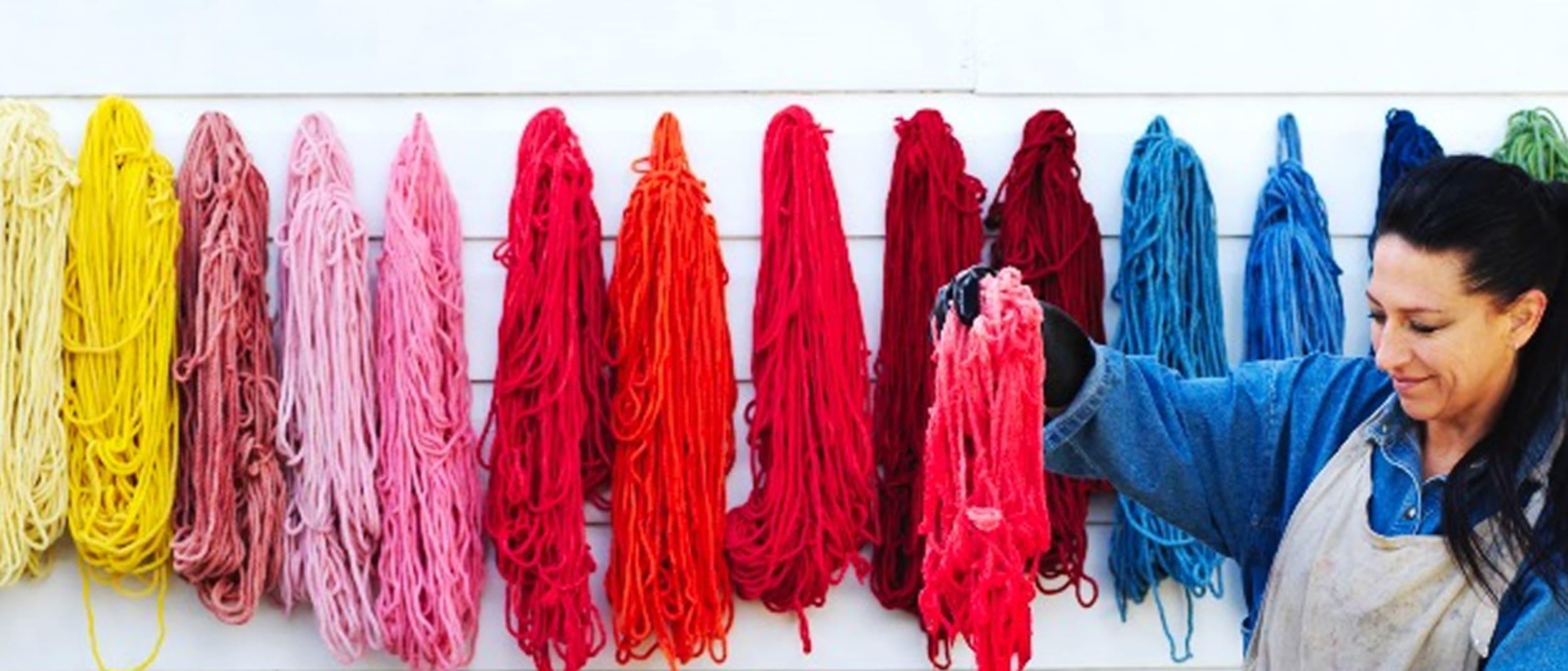 Wool Week: Extreme weaving by Natalie Miller
