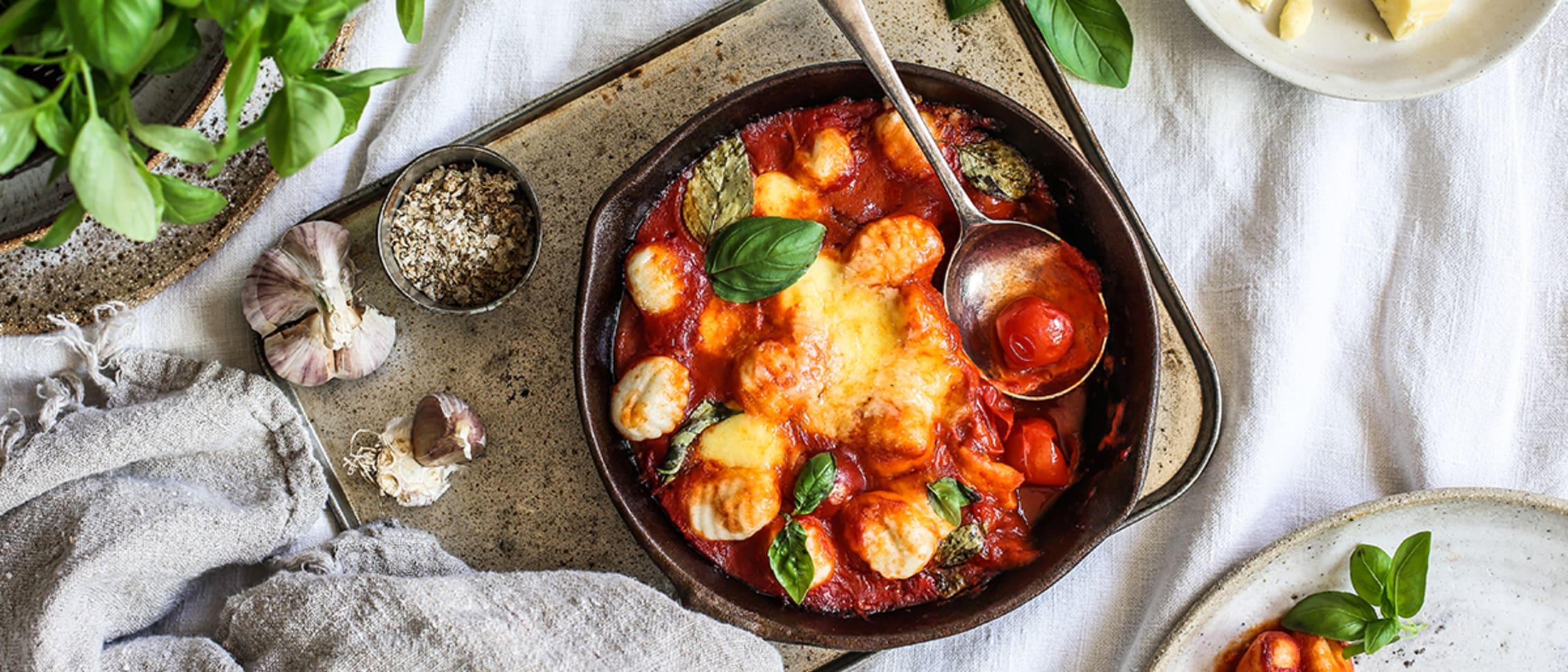 Silvia Colloca's baked gnocchi sorrentina