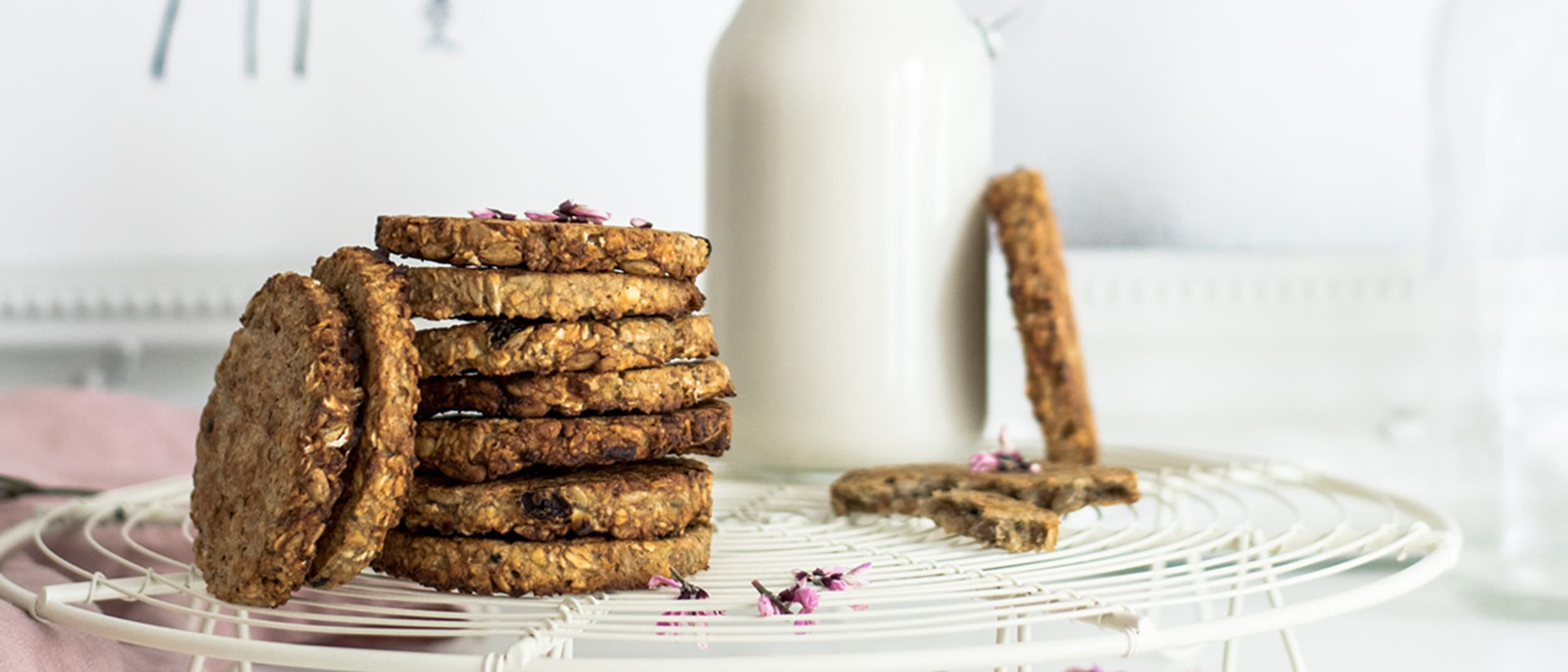 Delicious date and walnut cookie recipe