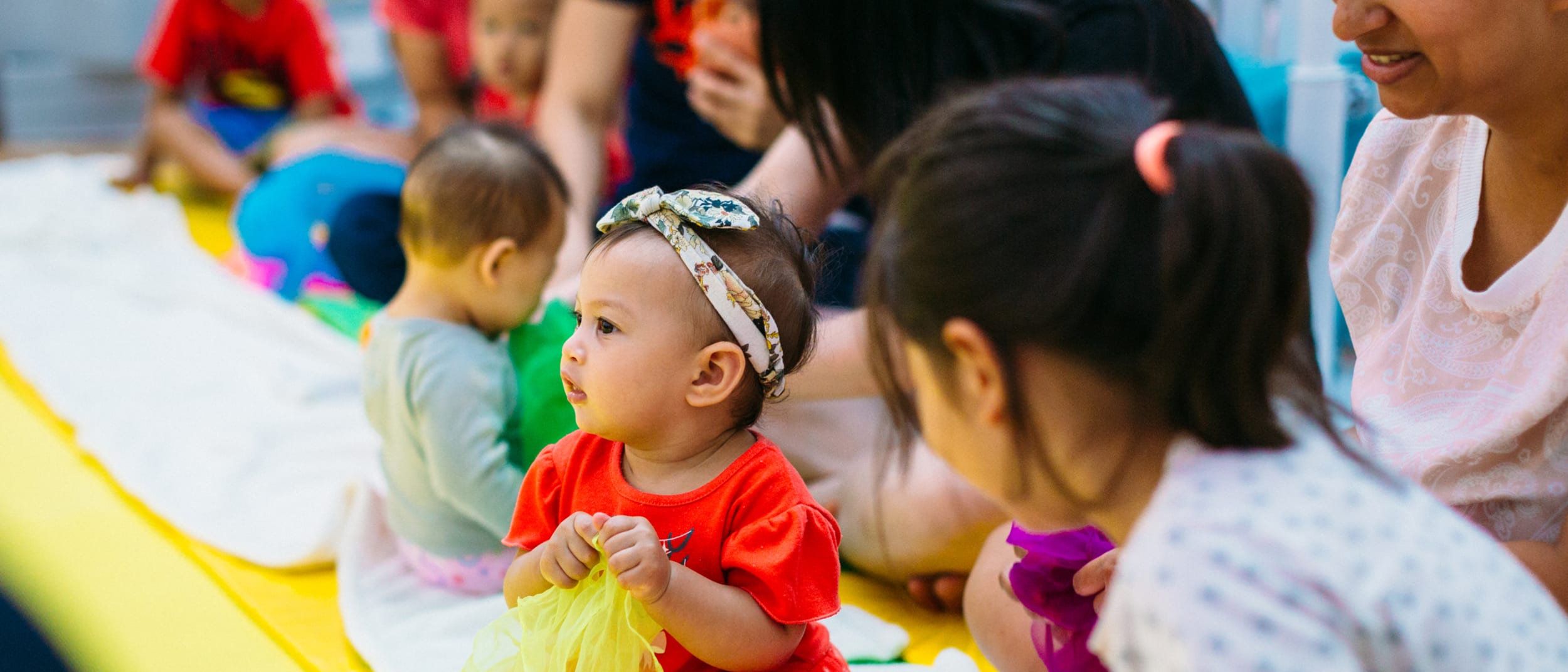 Little Wonders free mums and bubs classes