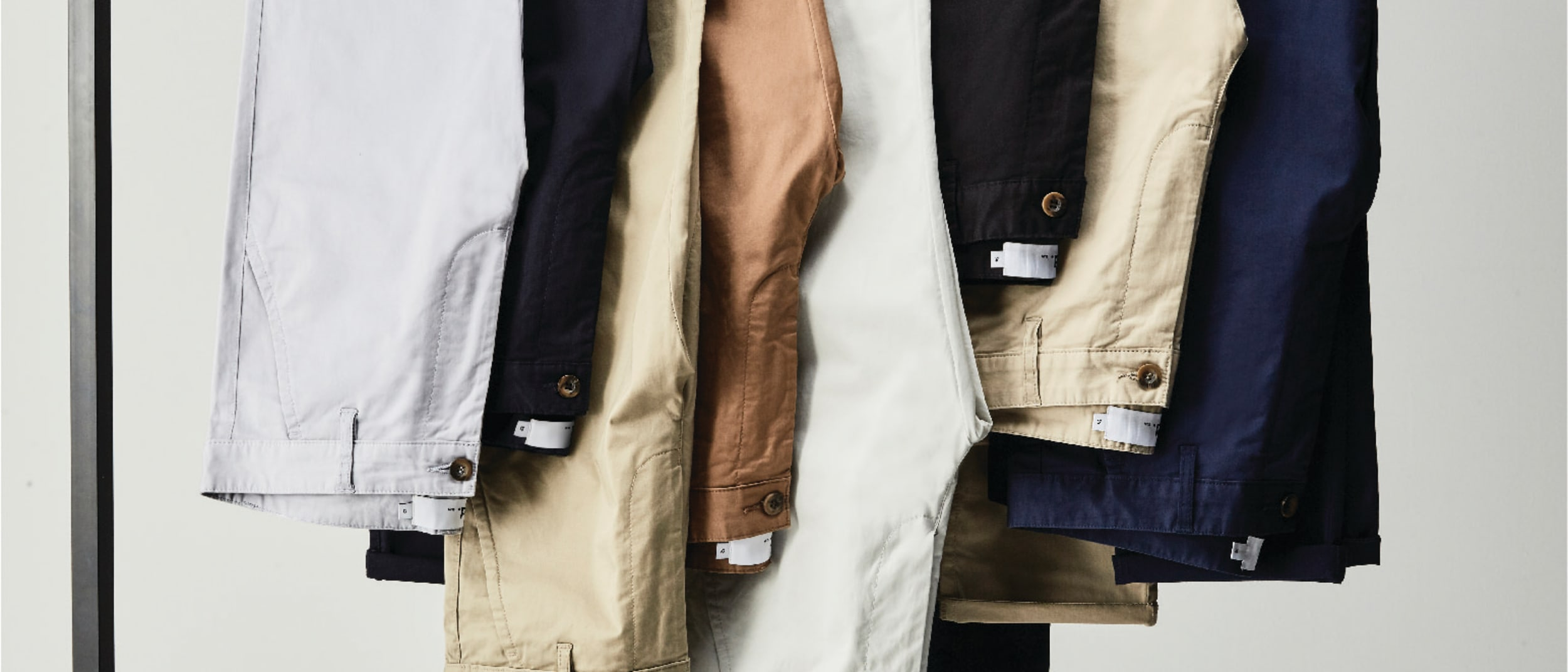 Yd: Buy one get one 50% off chinos and denim