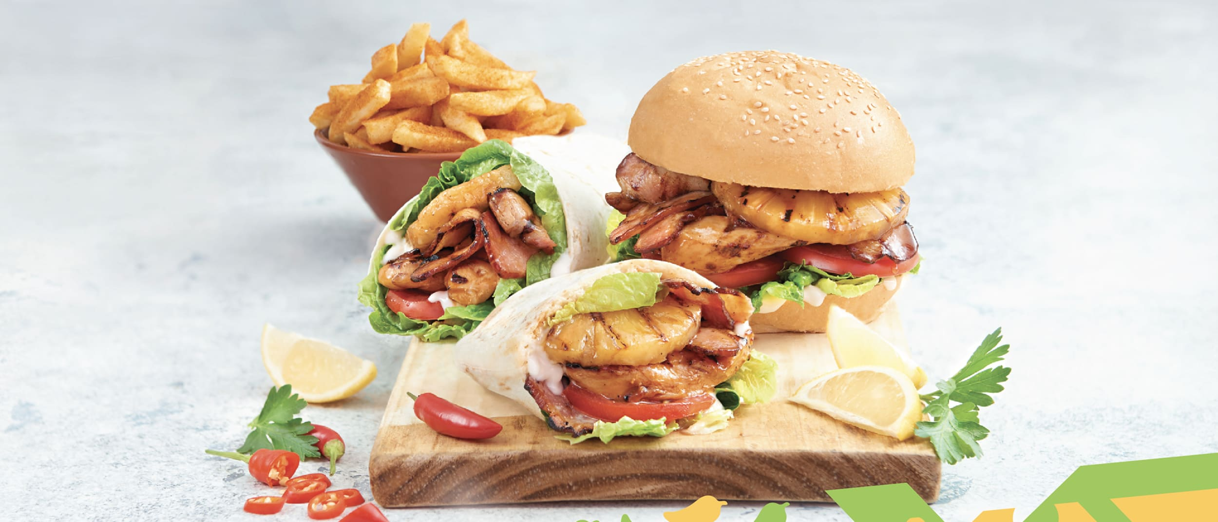 Nando's: Tropical Classic and a regular side for $12