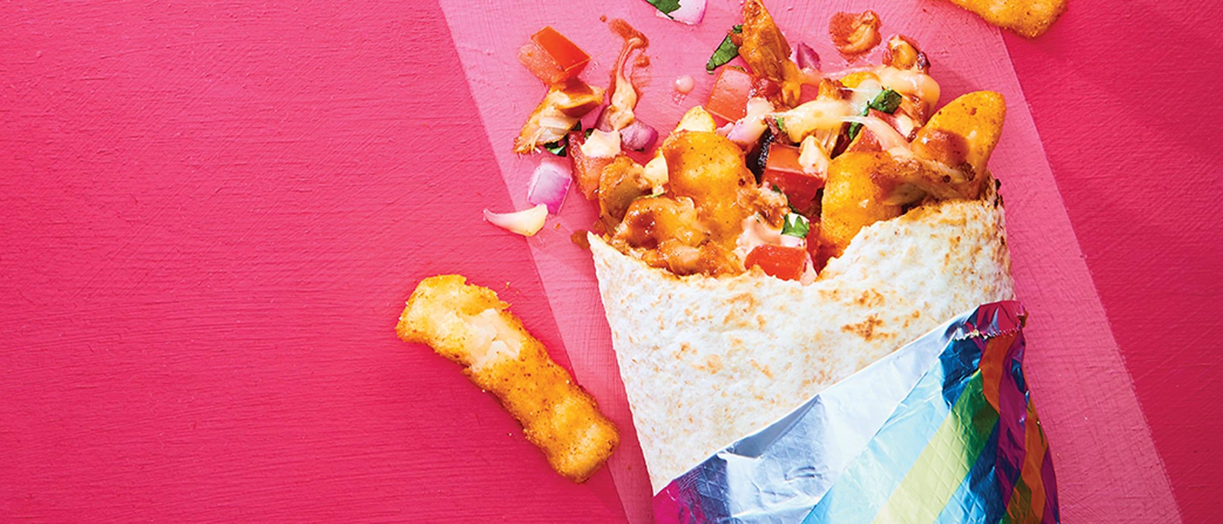 Salsa's Fresh Mex Grill: Chip-Burrito is back