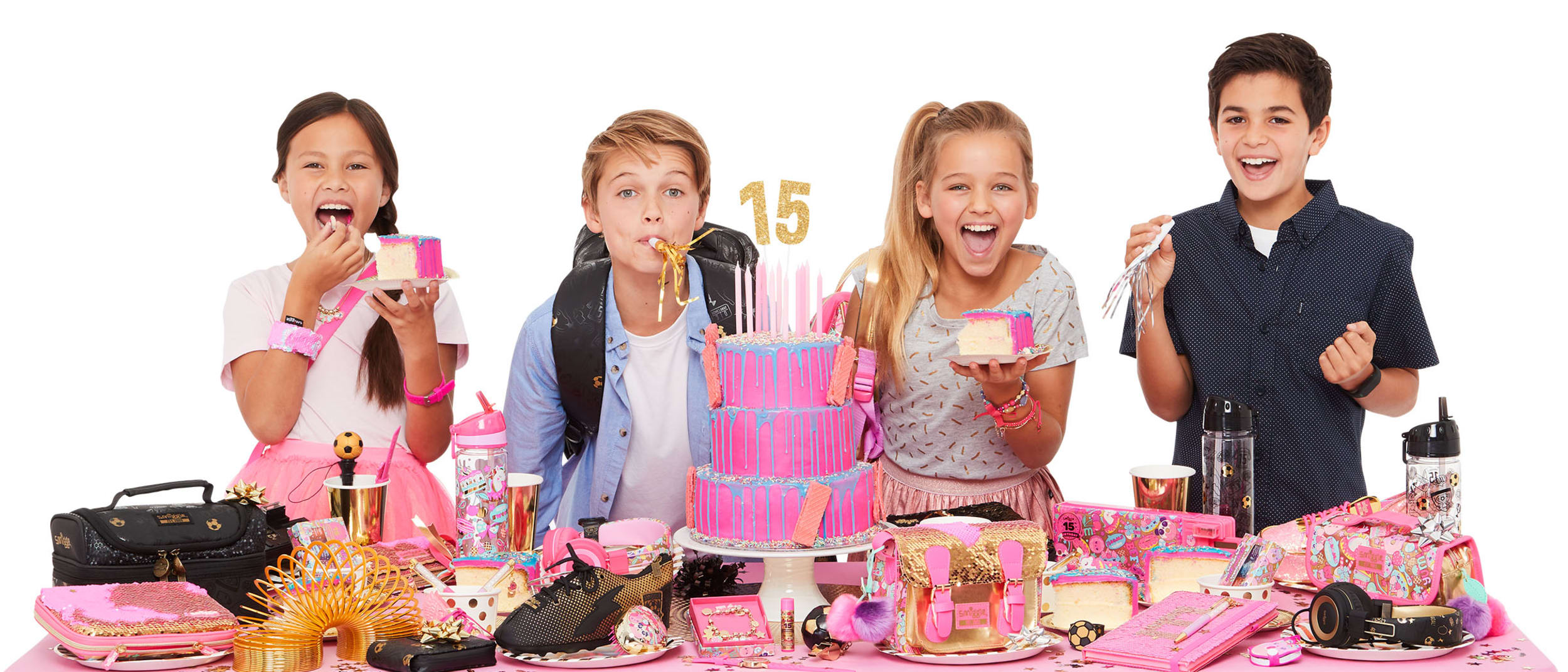Smiggle is celebrating 15 years of sharing smiles and giggles