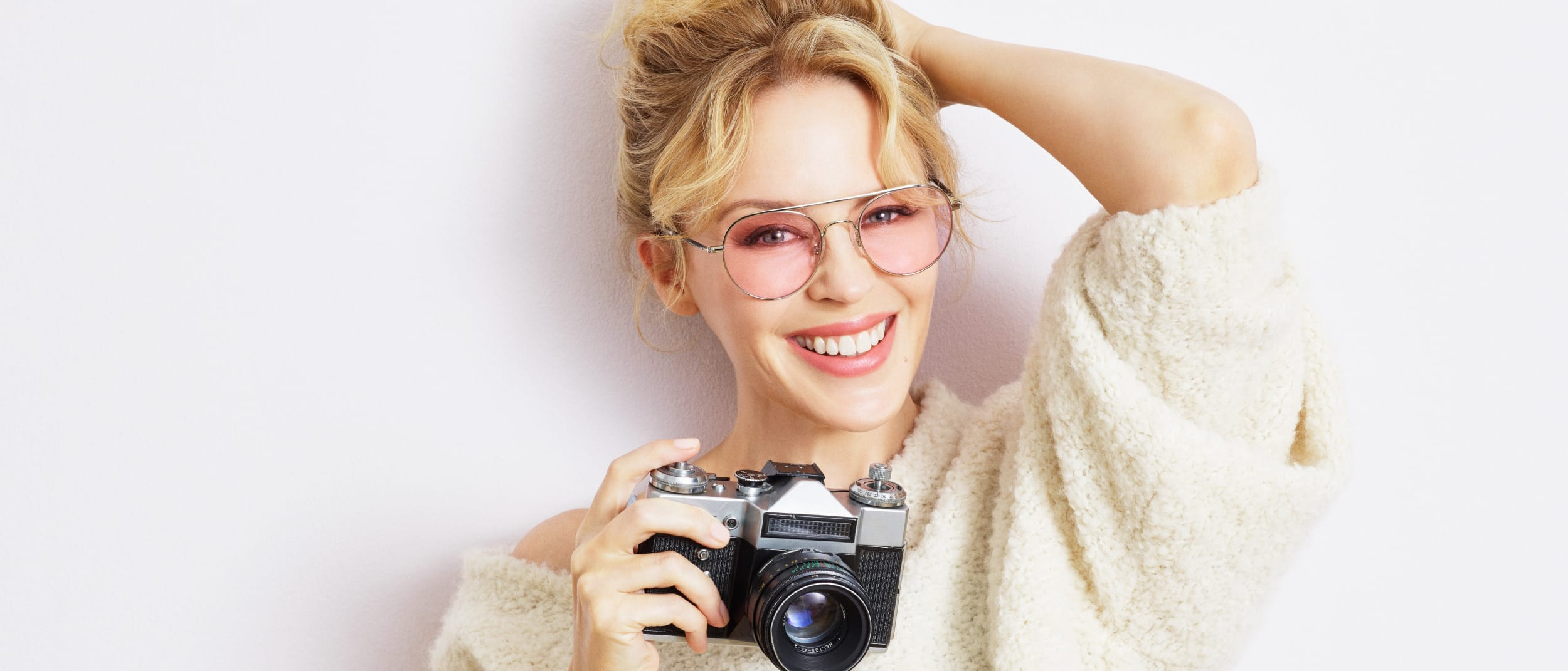 Specsavers: Kylie Minogue Eyewear launch