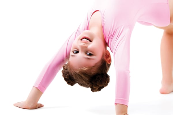 YMCA kids cheerleading and gymnastics workshops