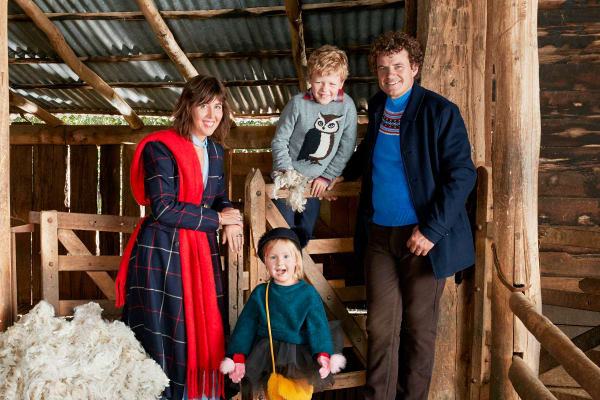 Cosy up: winter trends for the whole family