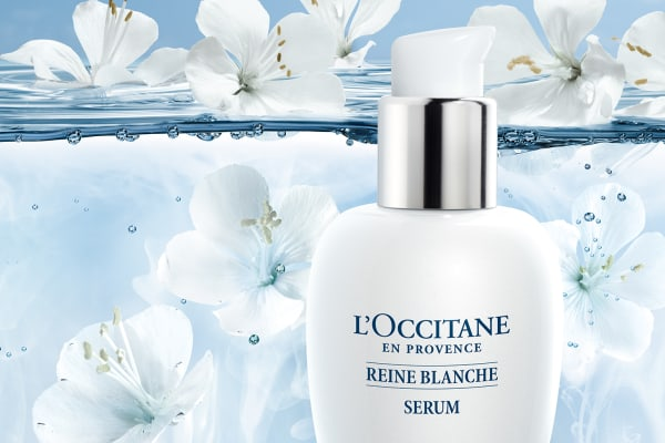 L'OCCITANE's new additions in the Reine Blanche range