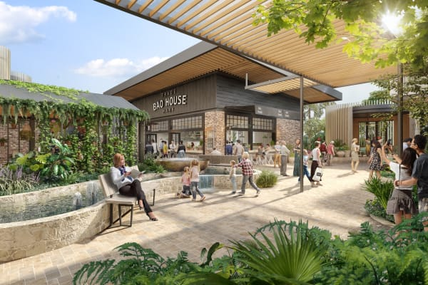 Westfield Tea Tree Plaza's development is underway