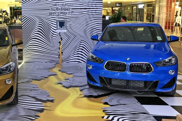 Come and see the first ever BMW X2 at Westfield Parramatta