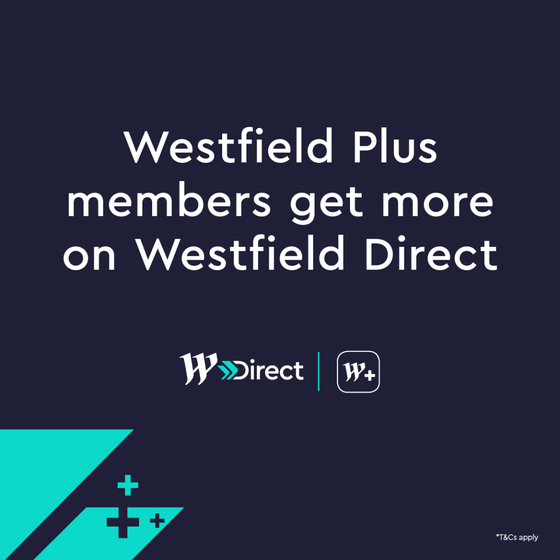Earn rewards when you Click & Collect as a Westfield Plus member