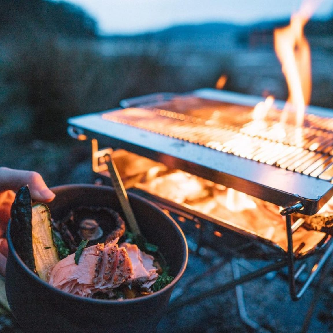 How To: Campfire cooking on Zorali's Pack & Stash Fireplace