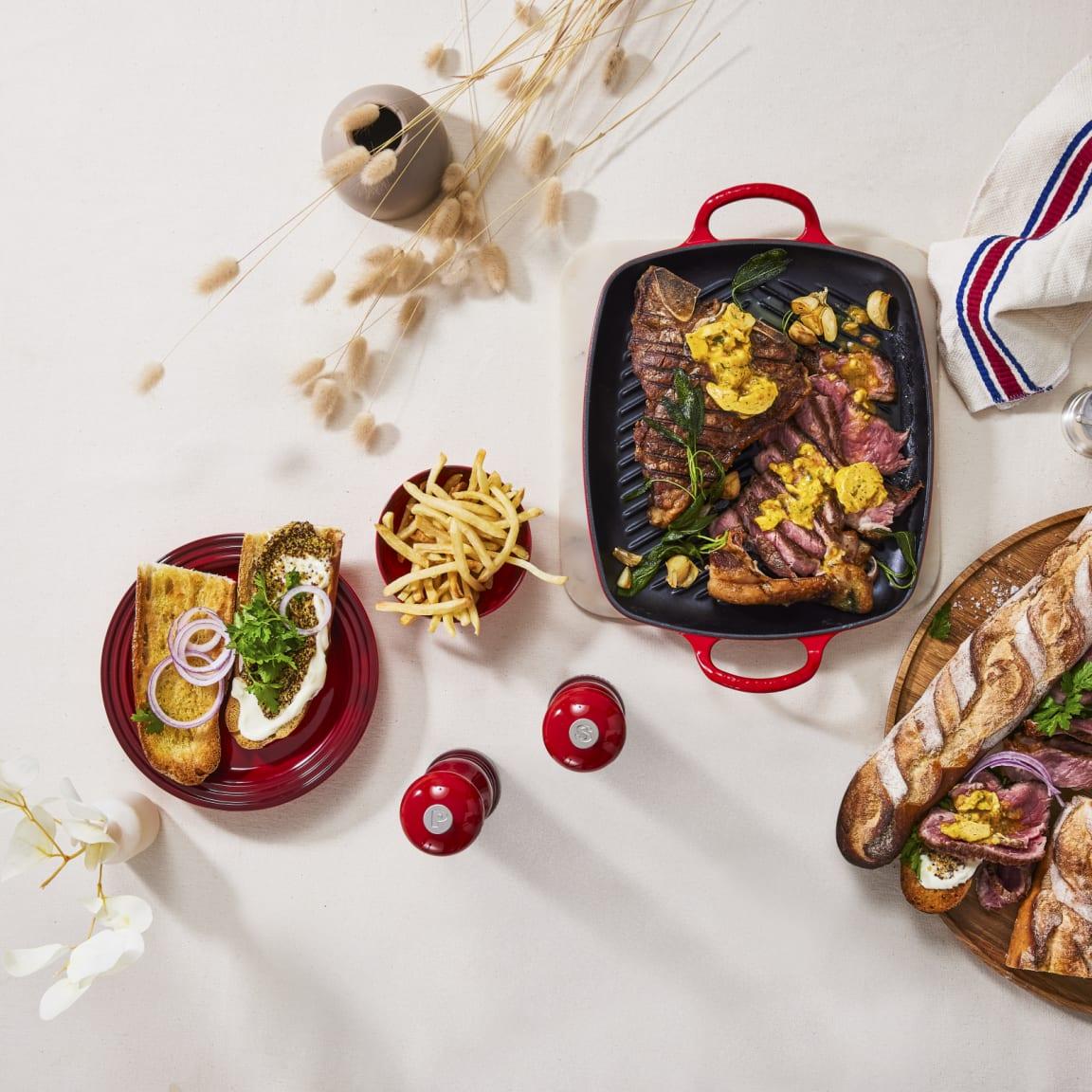 Recipe: Le Creuset - Steak with Café de Paris butter