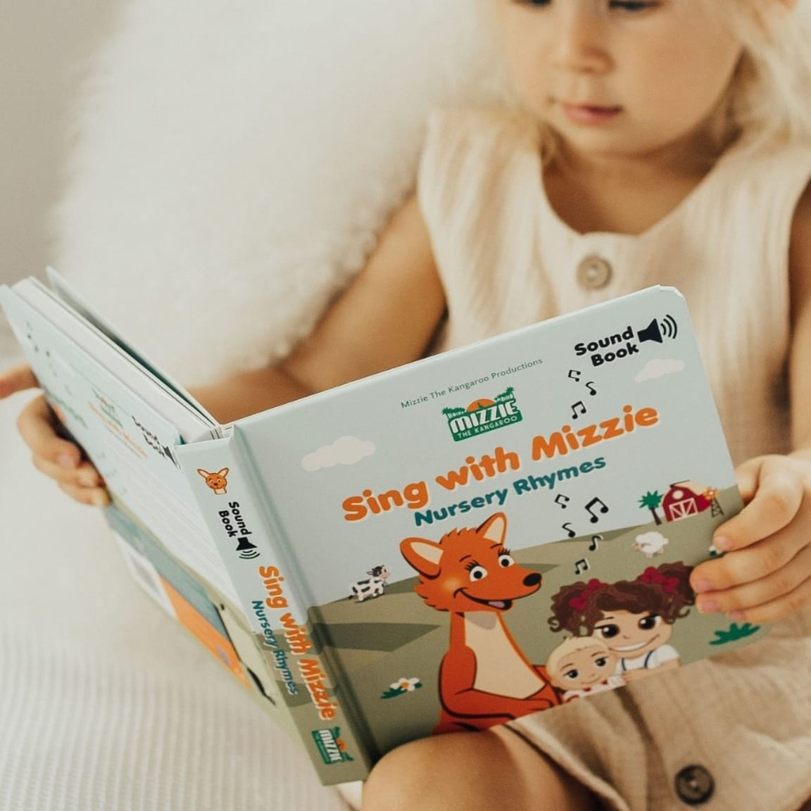 Mizzie The Kangaroo: The many benefits of early-age reading