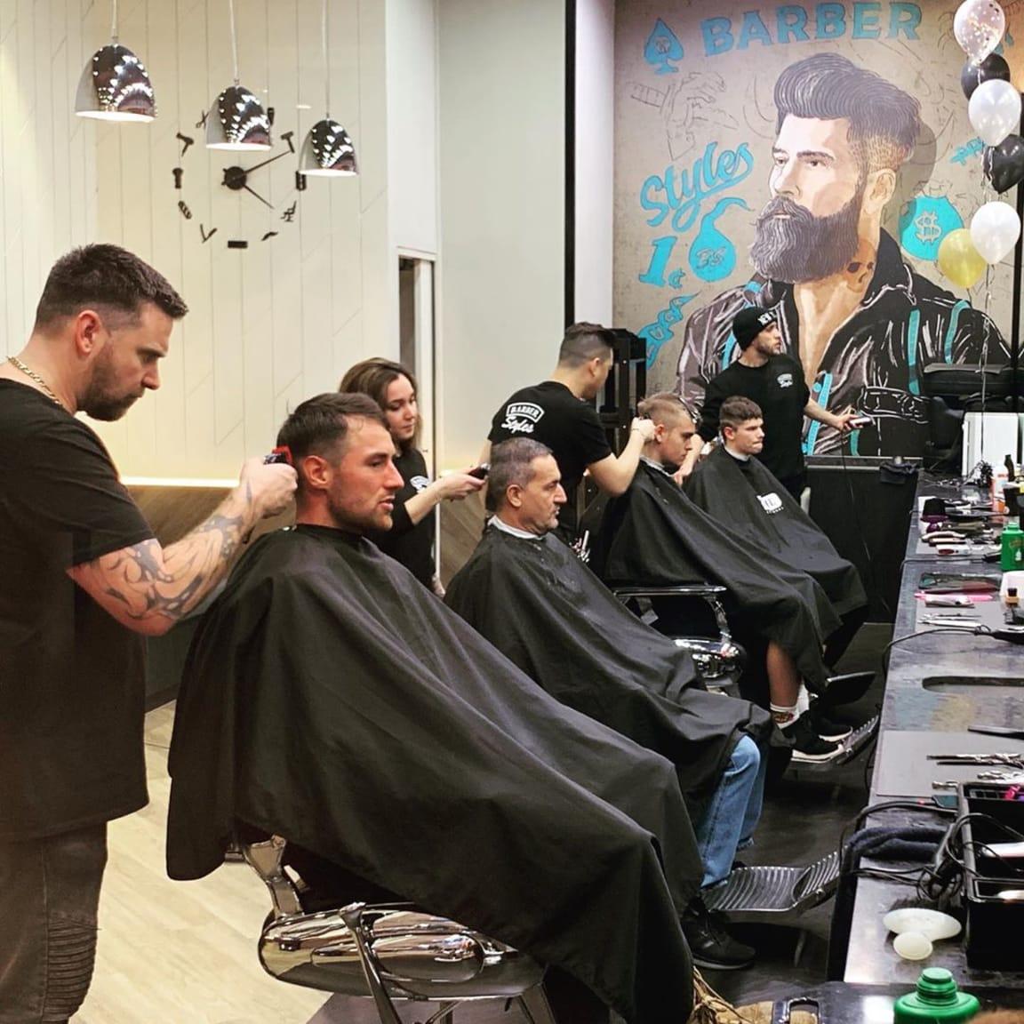 Barber Styles: $25 haircuts