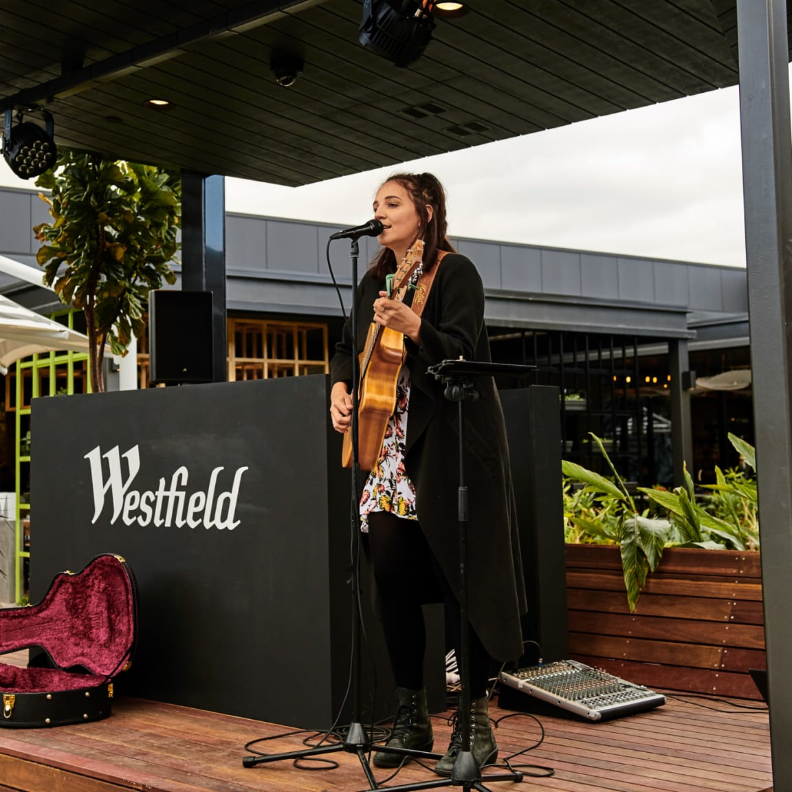 Enjoy live music at Westfield Carousel