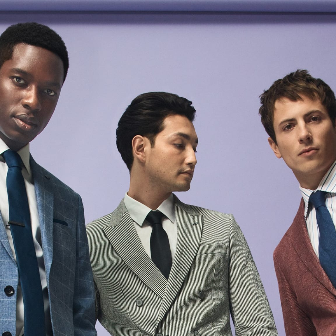David Jones: Four ways to freshen up your suiting