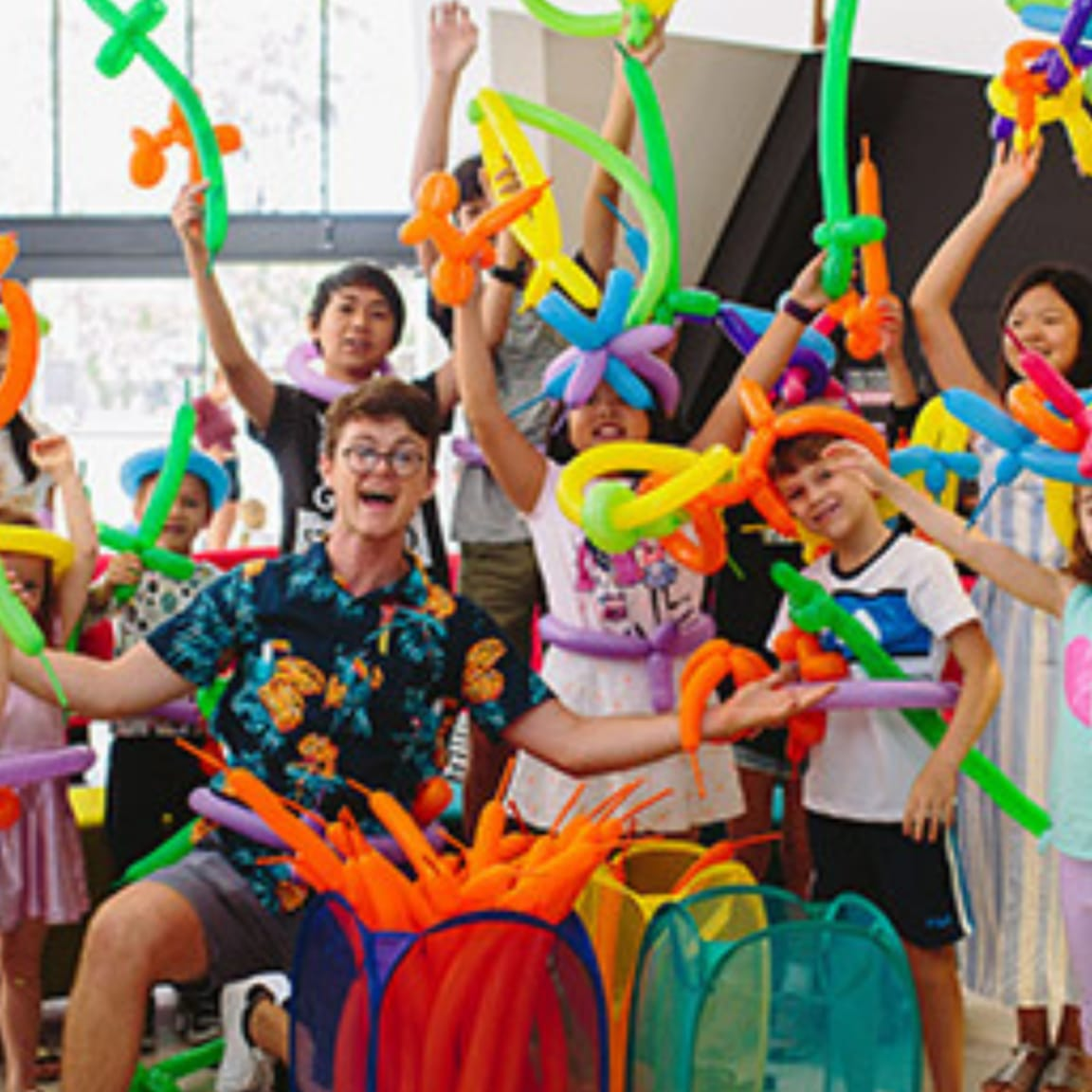 The Park Coomera: School holiday balloon workshops