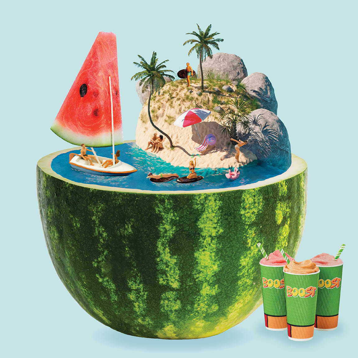 Boost Juice: Time to dive in to summer early
