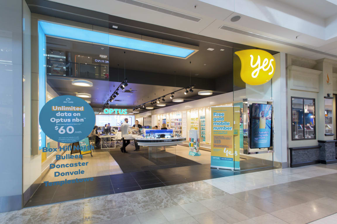 Optus at Westfield Doncaster