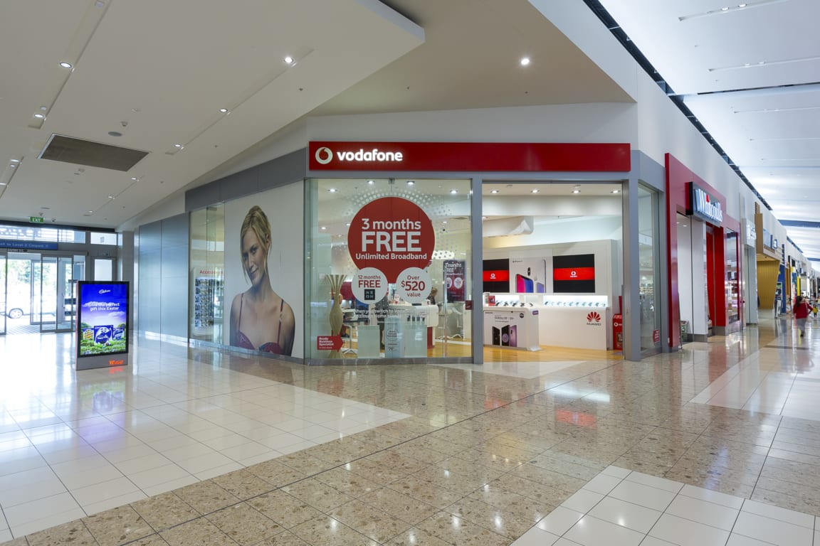 Vodafone at Westfield Albany