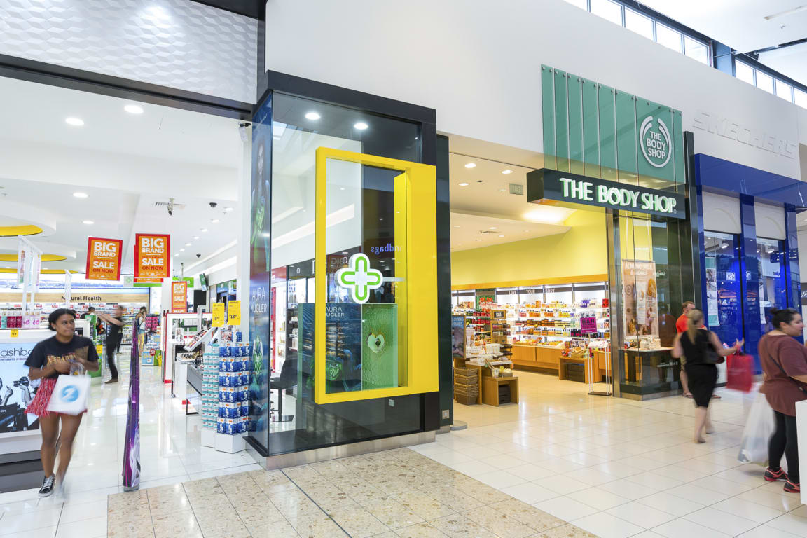 The Body Shop at Westfield Albany