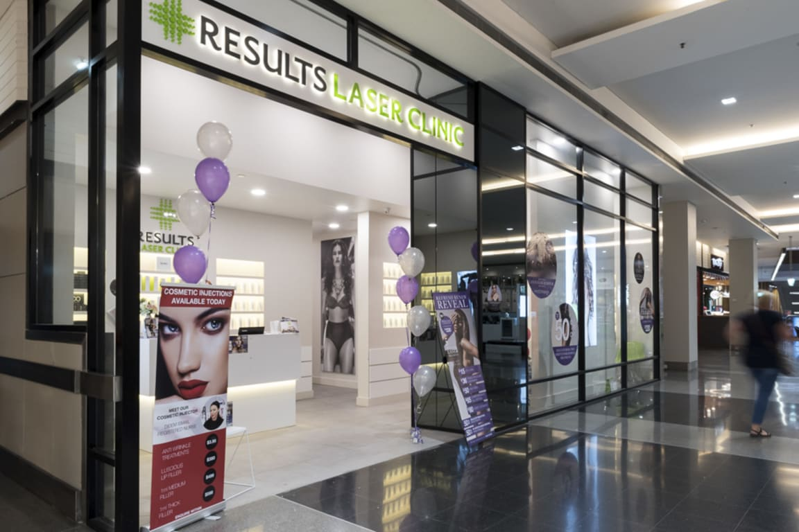 Results Laser Clinic at Westfield Geelong