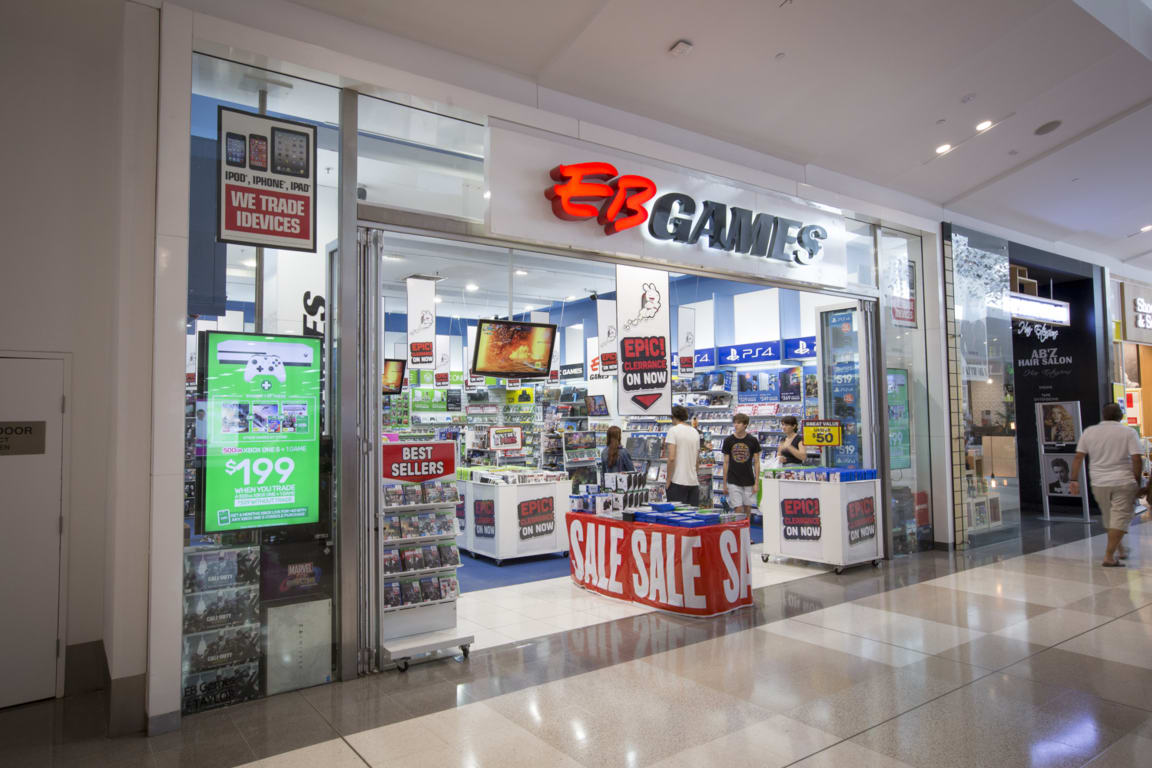 Eb Games At Westfield Chermside