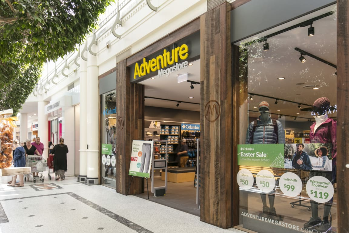 Adventure Megastore at Westfield Penrith