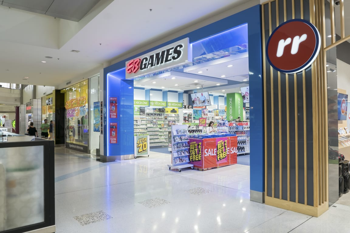 Eb Games At Westfield Liverpool