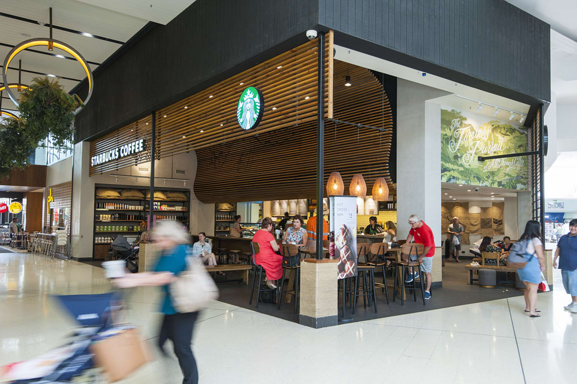 Starbucks At Westfield Garden City