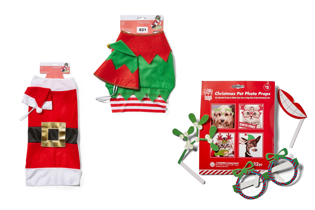 Story - Christmas outfits for your pet's Santa photo