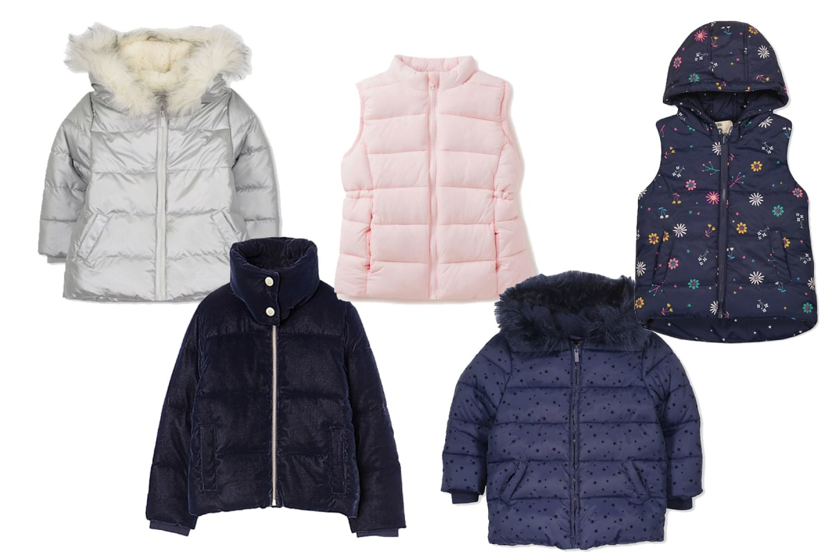 891cd9a28 Story - Winter warmers: puffer vests and jackets for kids