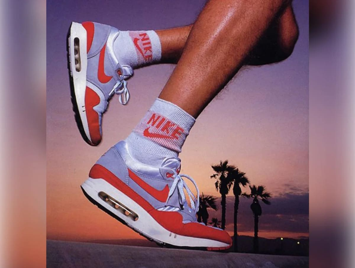 See the Evolution of Nike's Air Max Sneakers from 1987–2015