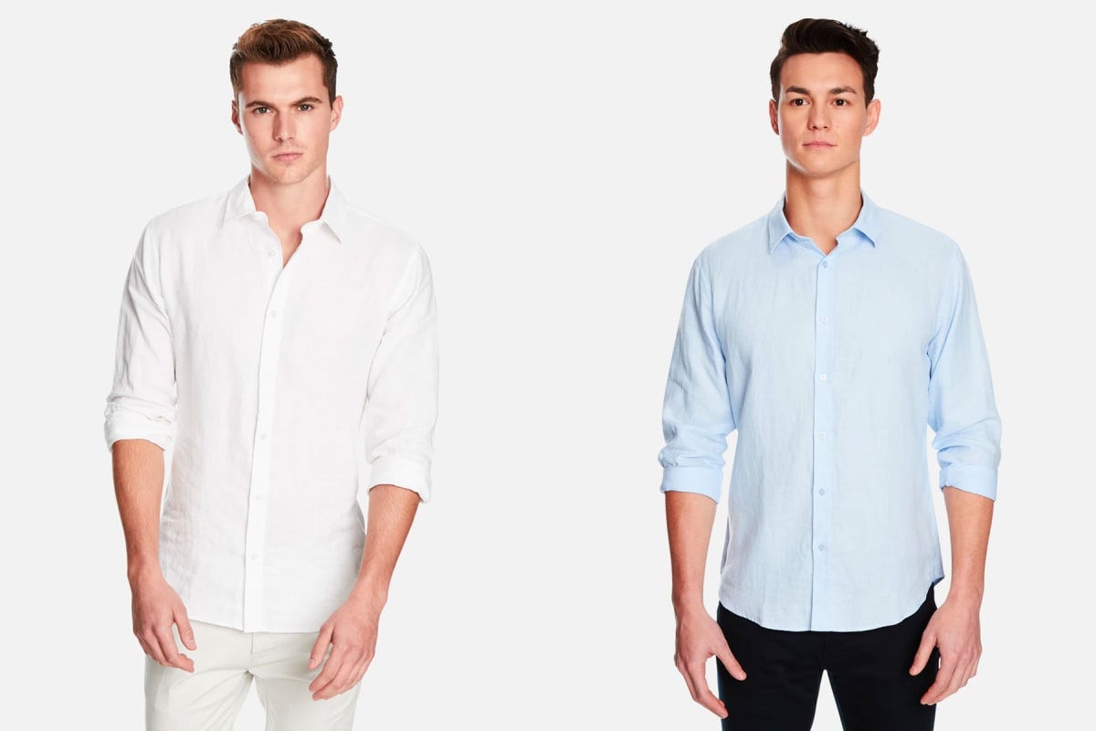 cc962b1946 Story - Beat the heat  men s linen clothing for summer
