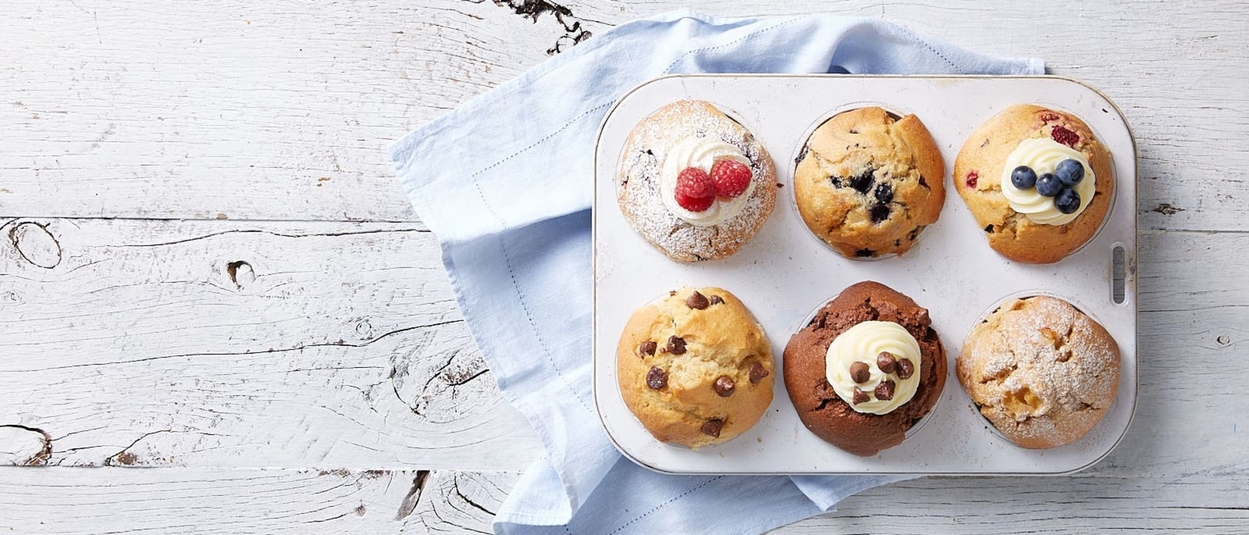 Exclusive: 4 muffins for $10 at Muffin Break