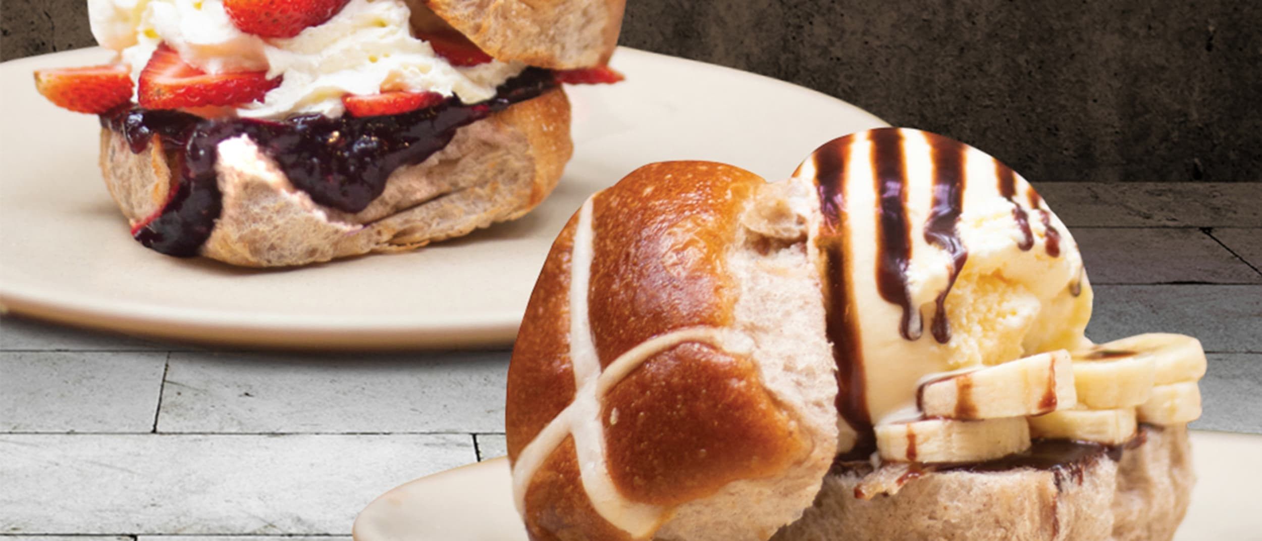The Coffee Emporium's Loaded Hot Cross Buns have arrived