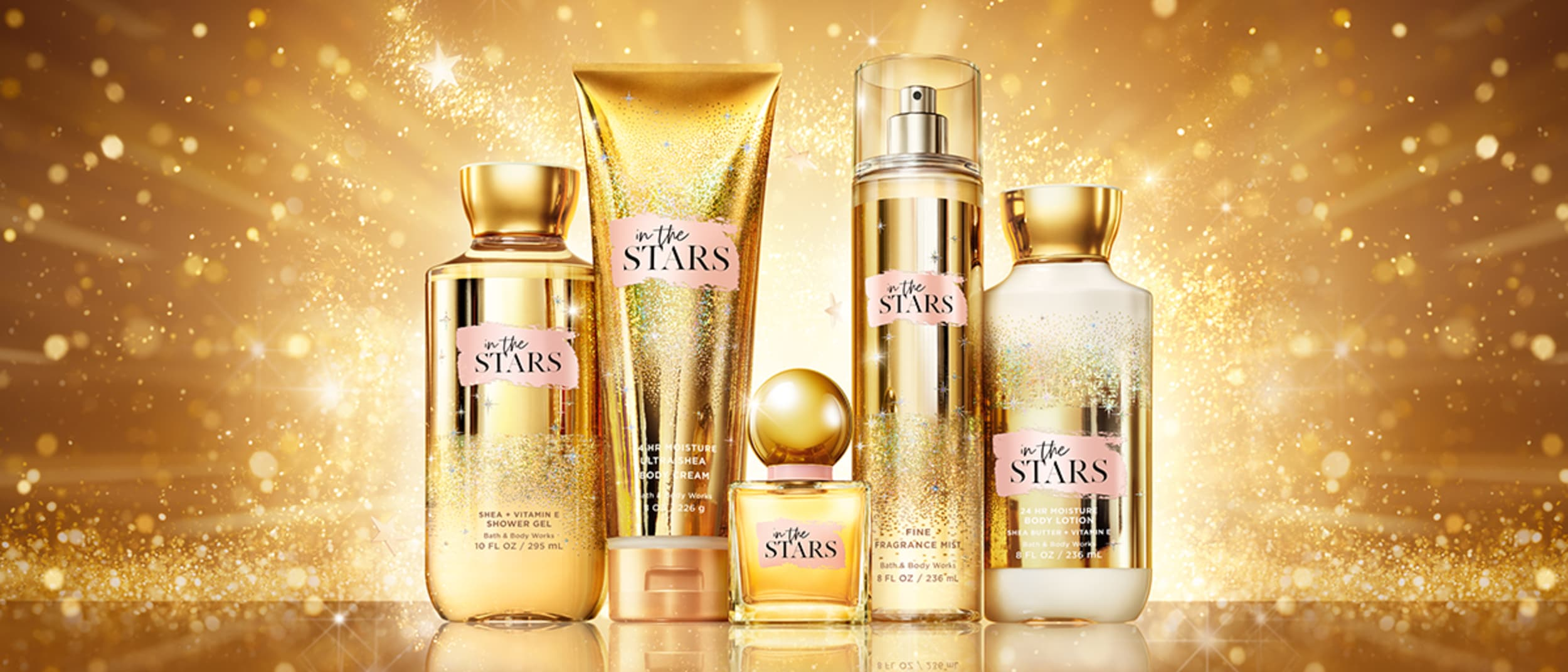 In The Stars, an exclusive fragrance at Bath & Body Works