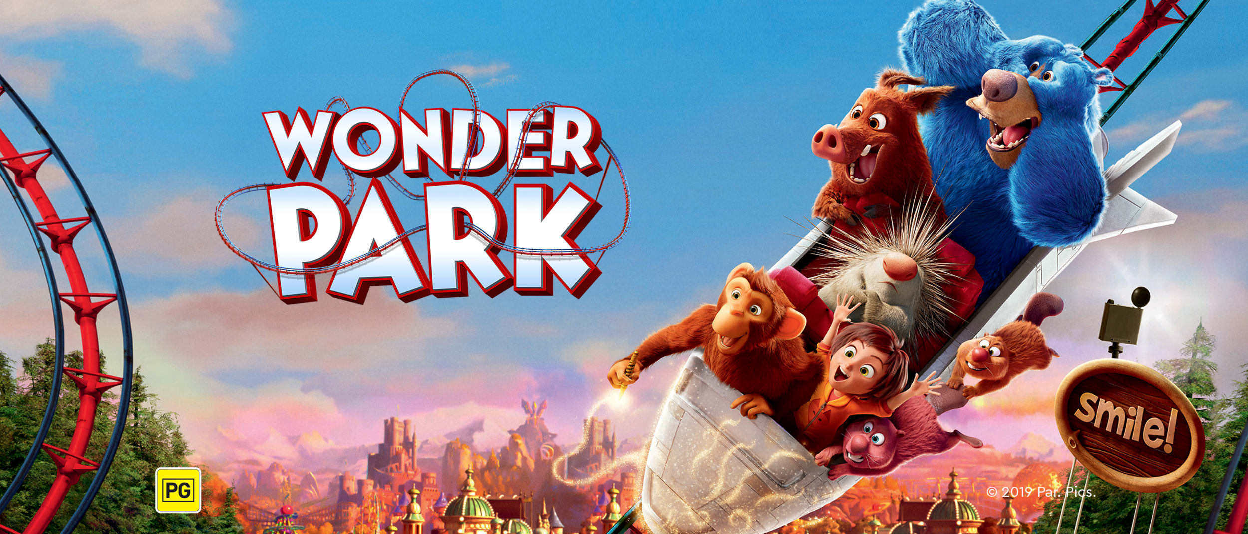 Meet the beavers of Wonder Park, in cinemas now